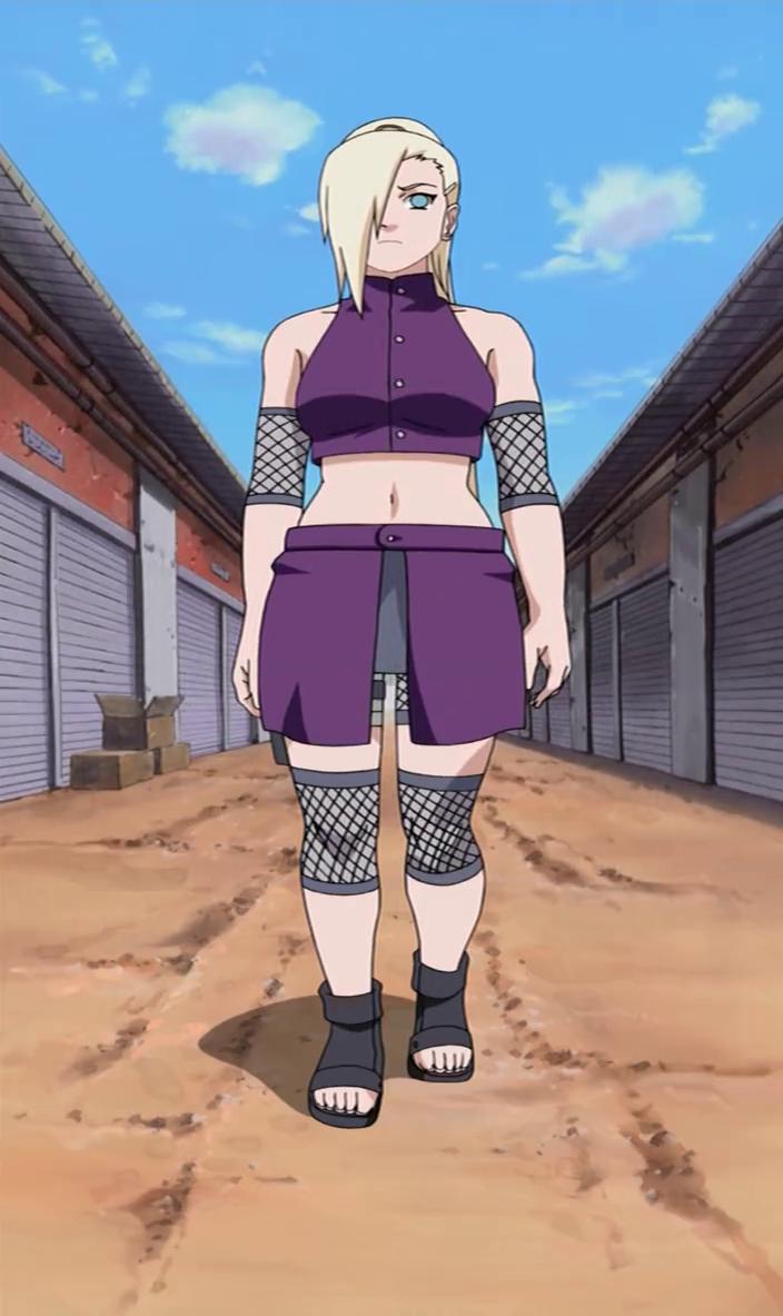 Anime Feet: Custom's Picks: Ino Yamanaka (Naruto)