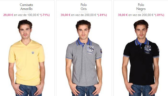 camisetas polos hombre