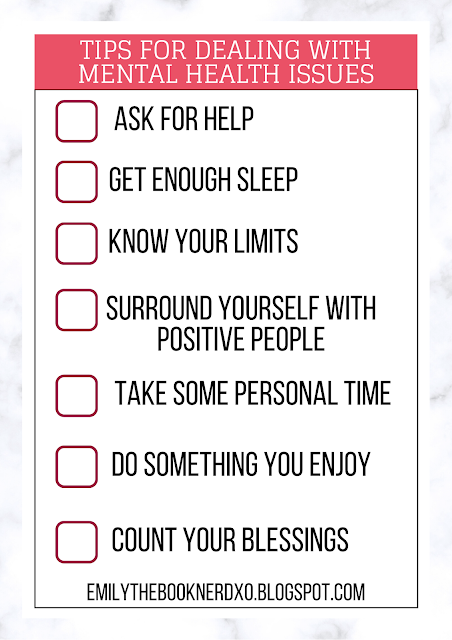 checklist for mental health issues