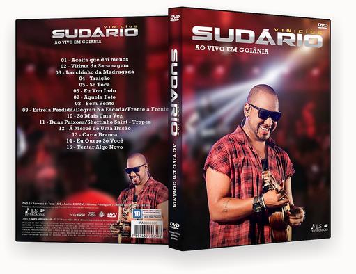 CAPA DVD – Vinicius Sudário Ao Vivo Em Goiânia DVD-R