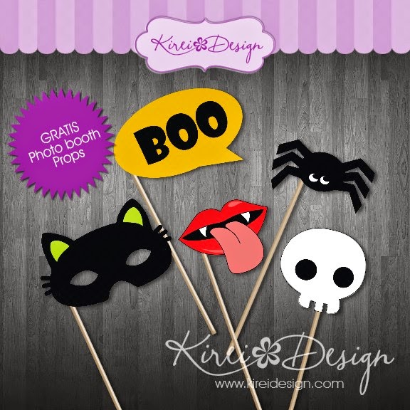freebie photo booth props kireidesign