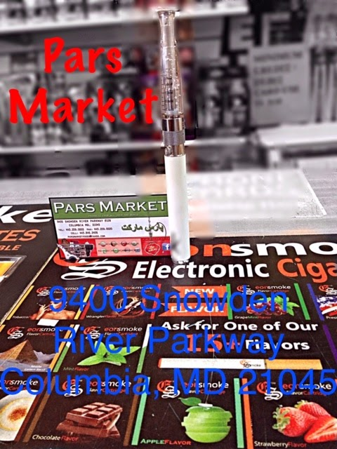 We carry great selection of E-Cigarettes at pars Market in Columbia Maryland 21045