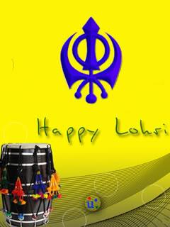 Happy Lohri HD Wallpaper