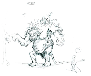 'The Troll Hunters' Playful But Terrifying Concept Art