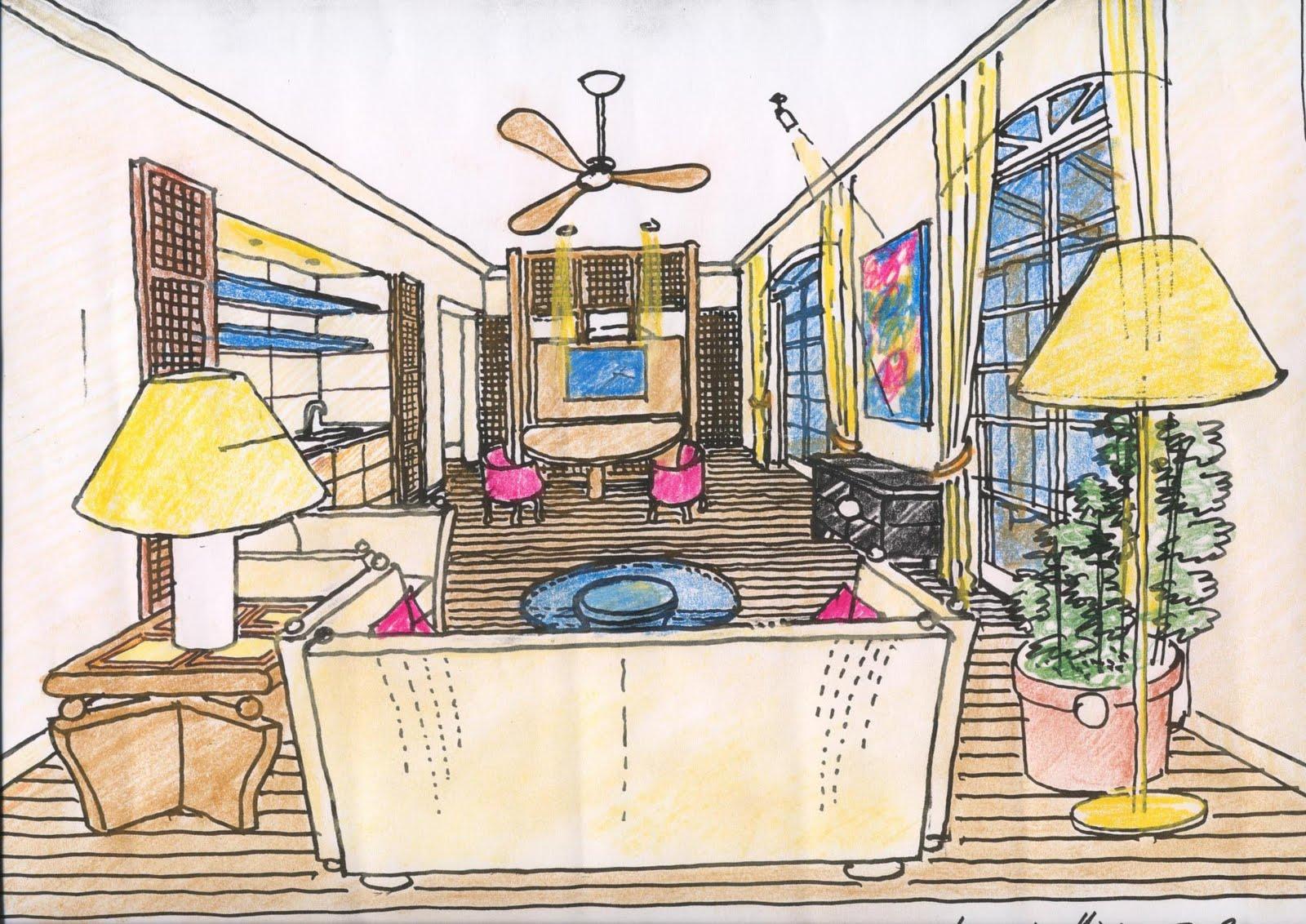 Architetto giusto puri purini progetto per un complesso for Disegni interni di case