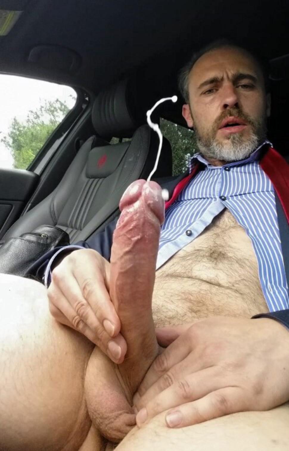 Daddy D Ready To Fill U Up Self Cum Shot.