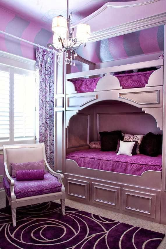 cool teenage bedroom schemes photo