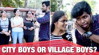 Chennai girls choice City boys or Village boys? | Settai Sheriff | APV
