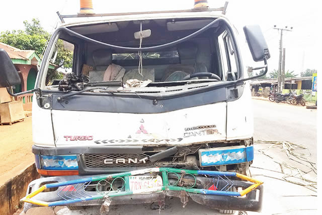 Truck crushes motorcyclist, two others to death in Ogun State