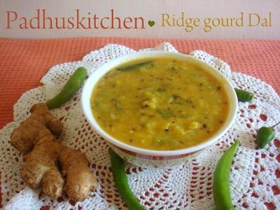 Ridge Gourd Dal-Turai ki dal