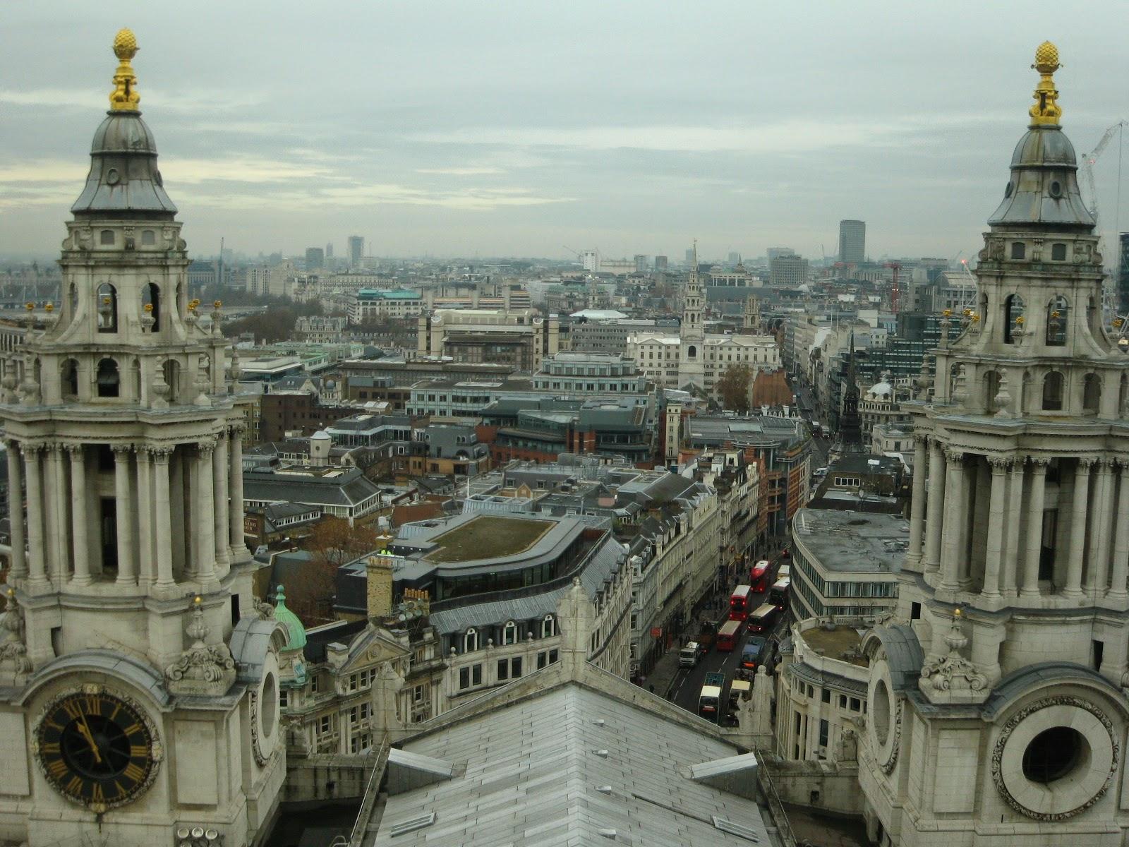 Vistas desde la catedral de Londres