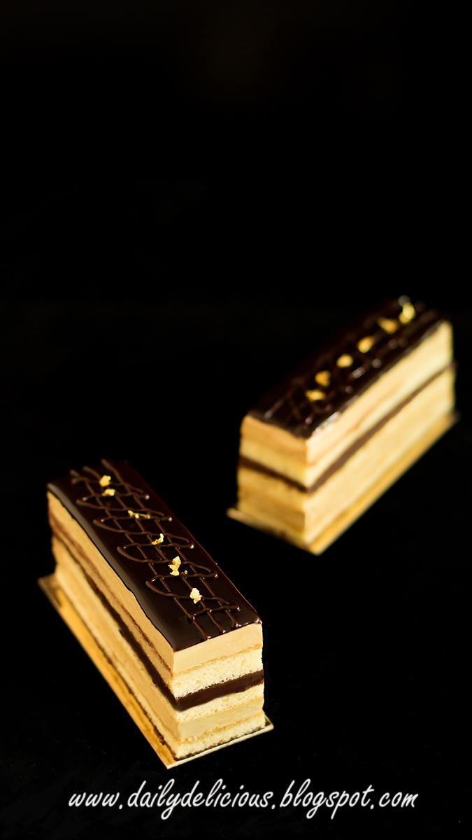 Opera Cake Recipe British Bake Off
