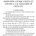 GIÁO TRÌNH - Cơ học chất lưu (Nguyễn Hữu Thành)