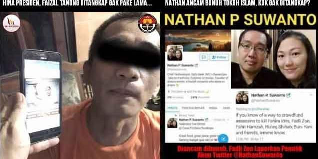 Hina Presiden, Bang Izal Lansung Diciduk, Ancam Bunuh Tokoh Islam Nathan Aman Hingga Kini