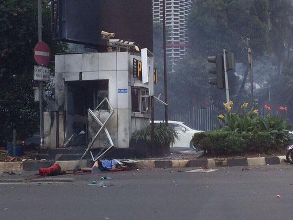 Ledakan Bom di Sarinah