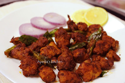 ayeshas kitchen chicken 65 recipe hyderabadi chicken fry chicken roasted kerala chicken fry chicken yummy crispy fry