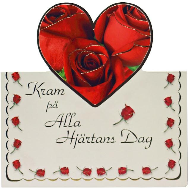 Hälsningar på alla hjärtans dag