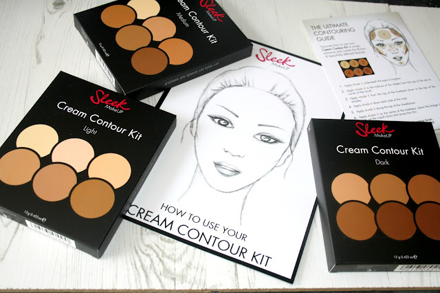 Sleek Cream Contour Palettes