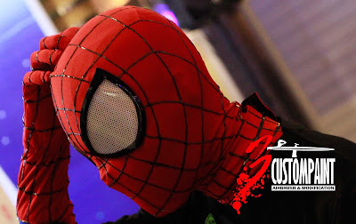 how to make the amazing spiderman 2 mask