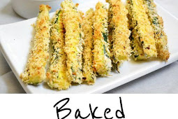 Recipe - Baked Zucchini Fries