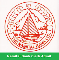 Nainital Bank Clerk Admit Card 2017