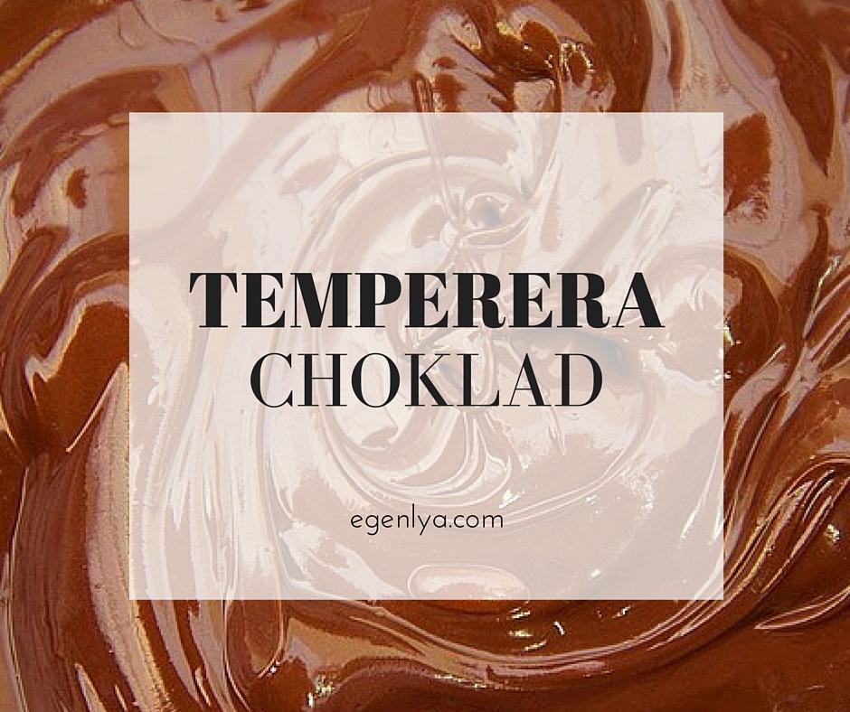 temperera vit choklad
