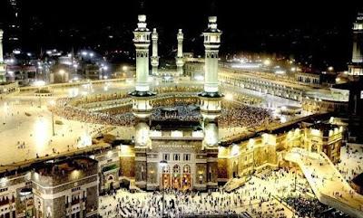 Foto Masjidil Haram Terbaru Mekkah Al Mukarromah Malam Hari 2018