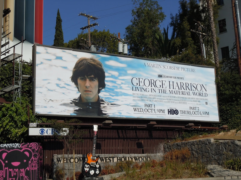 George Harrison HBO billboard
