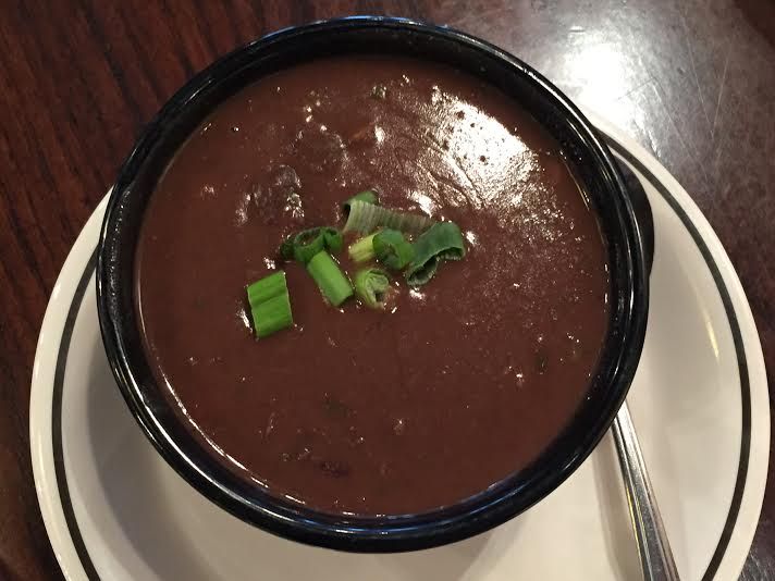 Corner Bakery Sriracha Black Bean Soup