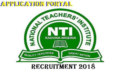 Apply For National Teachers Institute Recruitment 2018/2019 | Available Jobs Online