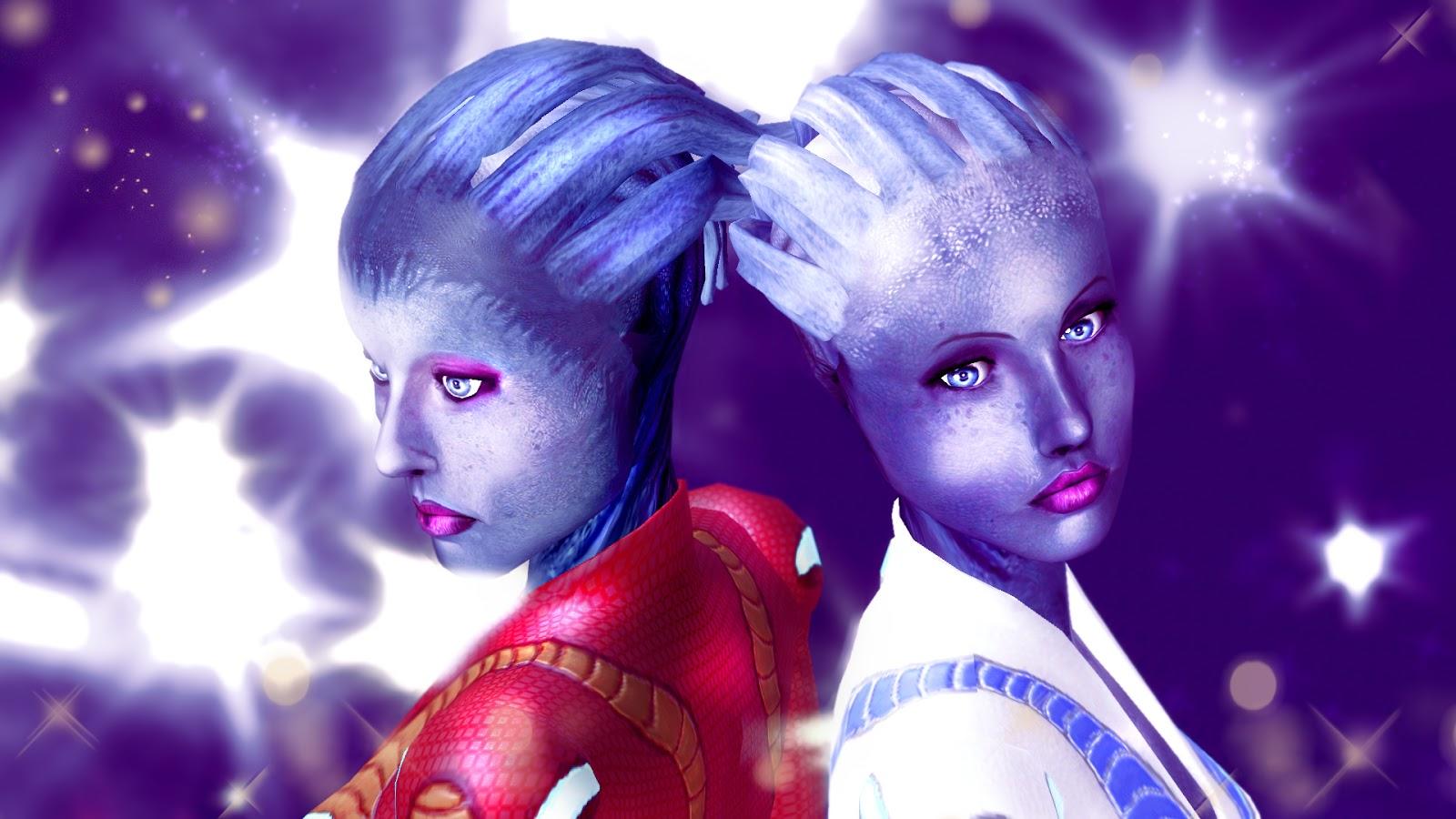 My Sims 3 Blog Three Asari Skintones Liara Aria Samara