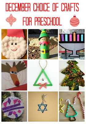 December crafts for preschool age