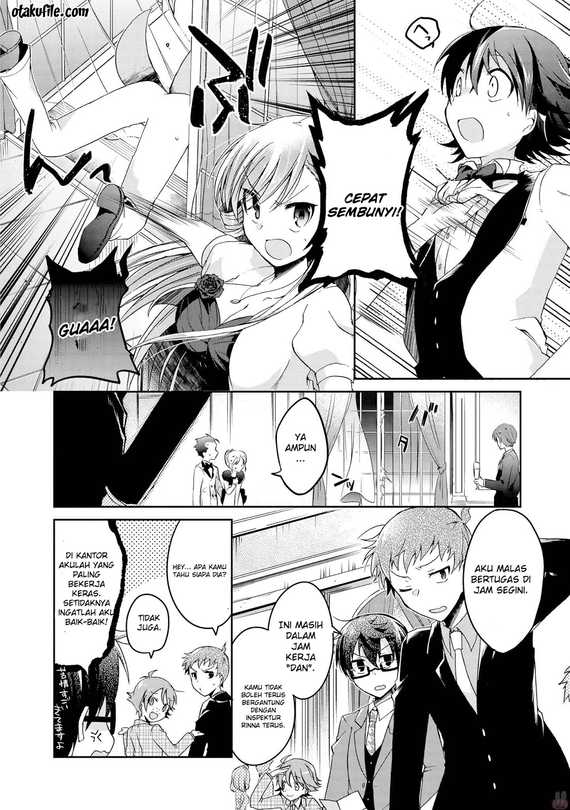 Baca Komik Linna Keibu wa Kokyuu ga dekinai Chapter 05 - Kintamaindo