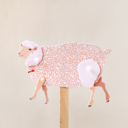 Diy Paper Puppet Sheep