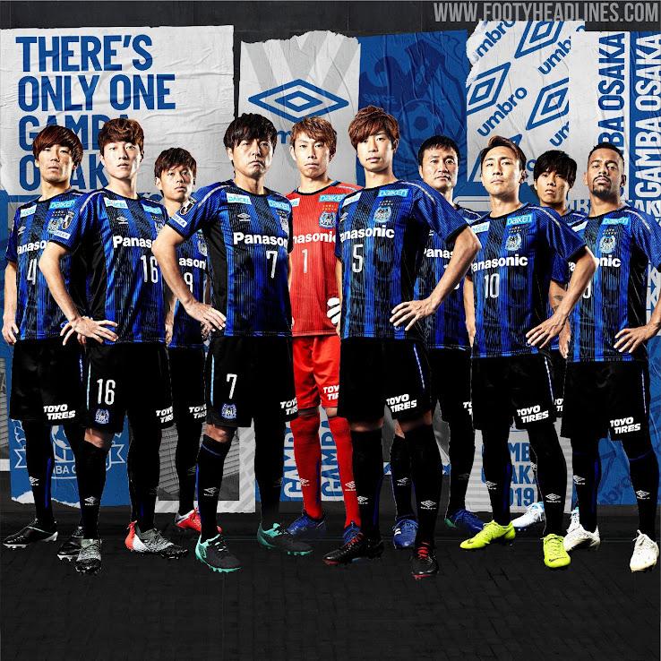 7d31ba77842 Gamba Osaka 2019 Home   Away Kits Revealed - Footy Headlines