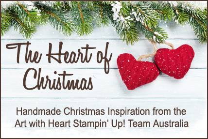 The Heart Of Christmas.Monstampingcorner The Heart Of Christmas Handmade