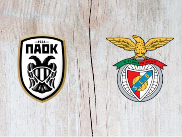 PAOK Thessaloniki FC vs Benfica Full Match & Highlights - 29 August 2018