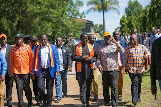 ODM in Kakamega preparing for NASA presidential launch. PHOTO | Courtesy