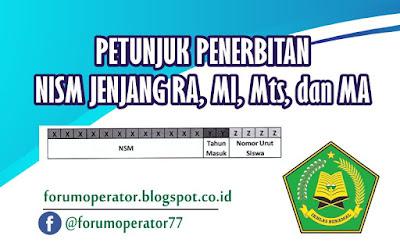Juknis Penerbitan Nomor Induk Siswa Madrasah