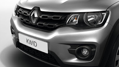 Renault Kwid front close up shot