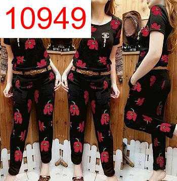 SETELAN REMBULAN FLOW RED - 10949