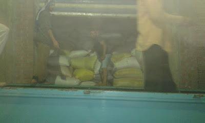 ضبط 150 طن أرز داخل مخزن بالدقهلية