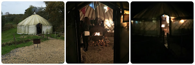 yurt at River Cottage HQ Axminster #RiverCottageChristmas
