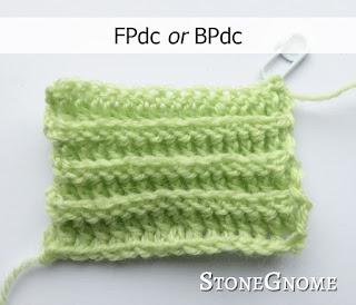 Crochet rib - FPdc OR BPdc