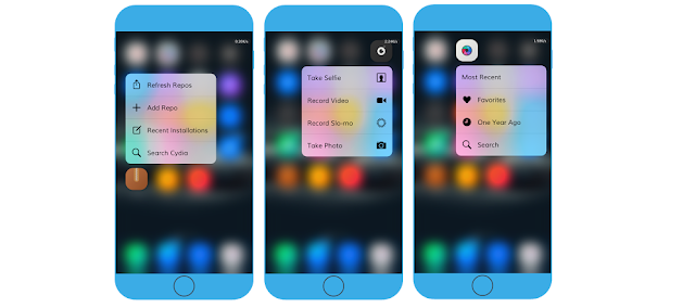 There's a good news for all jailbroken users who are on iOS 9 jailbreak and wants to enable 3D Touch feature on their older iOS 9 devices