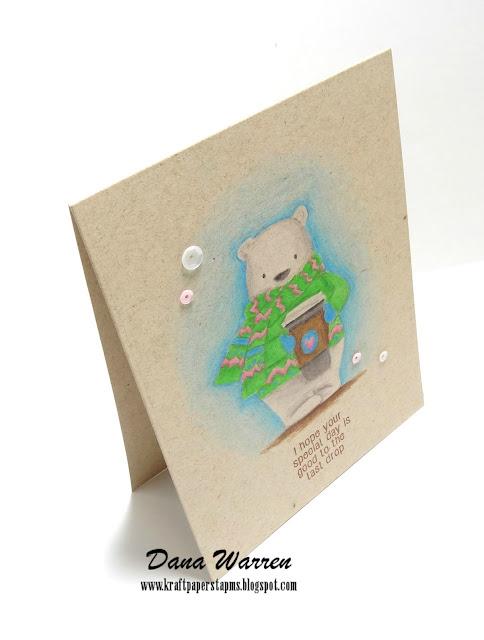 Dana Warren - Kraft Paper Stamps - Darcie's Heart & Home