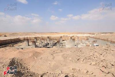 بدء أعمال جث التربة بمسجد العاصمة الإدارية