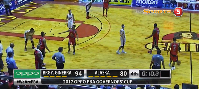 Ginebra def. Alaska, 94-80 (REPLAY VIDEO) August 26