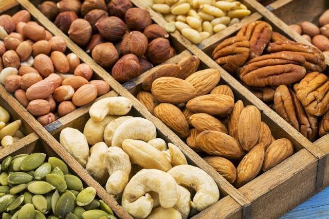 frutos secos para combatir el envejecimiento
