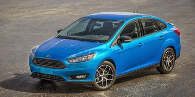 All New Ford Focus Sedan